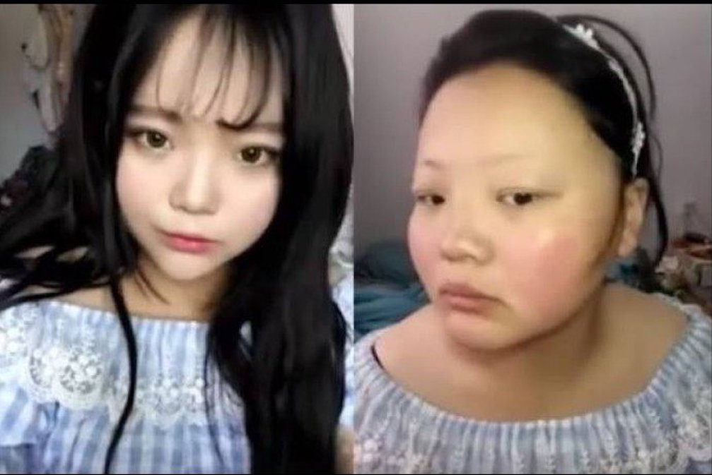 Ulzzang Makeup Before And After Internet Ulzzang demon...