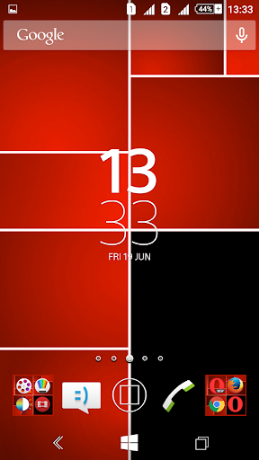 Win8 Red Tiles XZ Theme