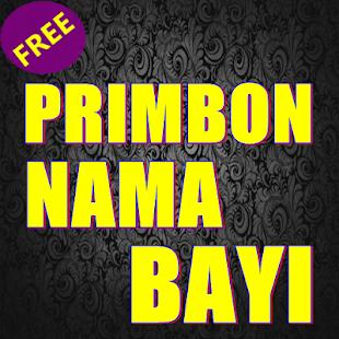 Primbon Nama Bayi - náhled