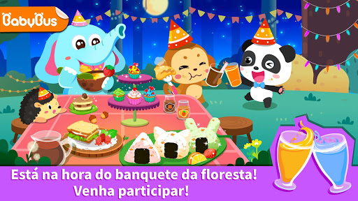Banquete na floresta do Pandinha - Festa divertida screenshot 6
