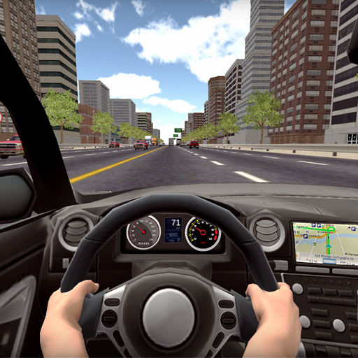 Racing Game Car