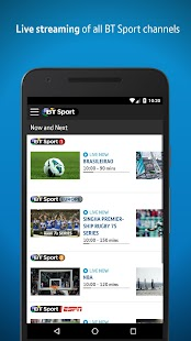 BT Sport- screenshot thumbnail