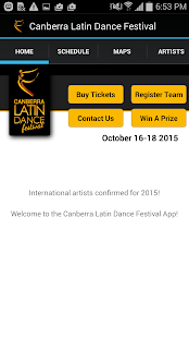Canberra Latin Dance Festival- screenshot thumbnail