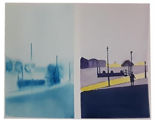 Jeanne PAPA_STAGE Vers une aquarelle abstraite _2019_ travail de Francoise