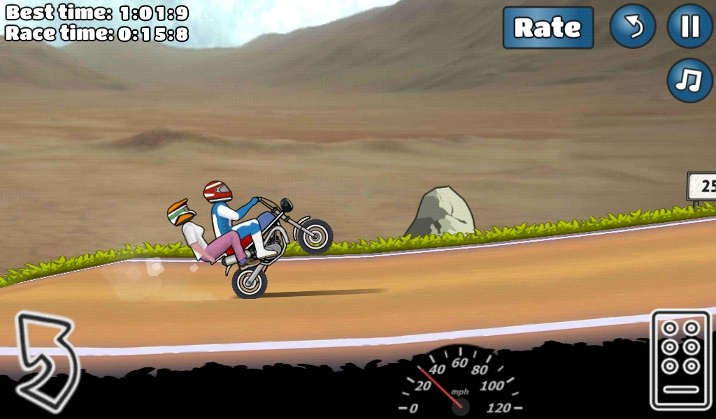 Wheelie Challenge- screenshot