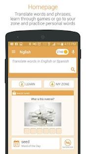 dictionary translate english to spanish free