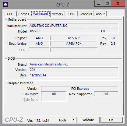 CPU-Z Mainboard