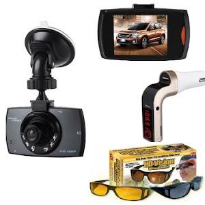 Camera auto Full HD Night Vision + Car Kit Modulator G7 + Set ochelari condus