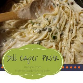 Dill Caper Pasta