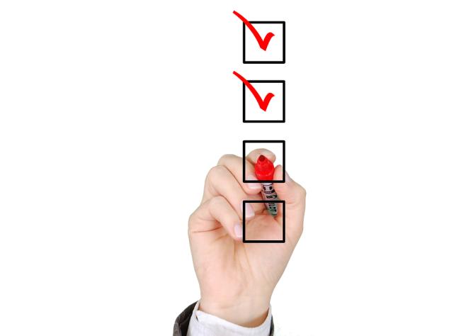 Checklist, List, Check, Mark, Business, Questionnaire