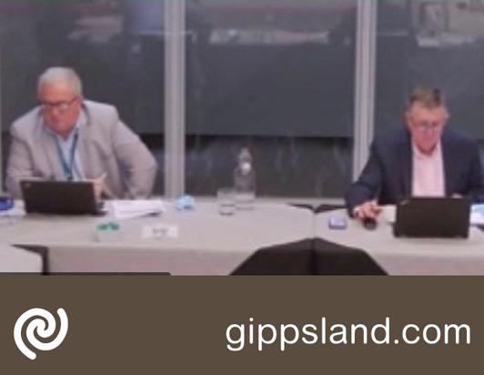 Council meeting held 08 Sep 2021