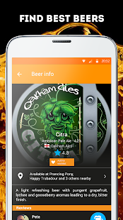 Pint Please Beer App- screenshot thumbnail