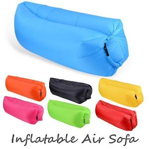 Set 3 x Saltea gonflabila Lazy Bag AIR SOFA umflare cu aer