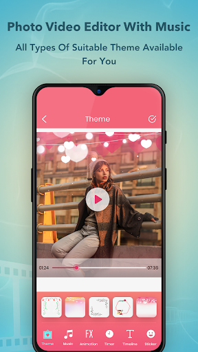 Photo Video Maker with Music : Video Editor screenshot 2