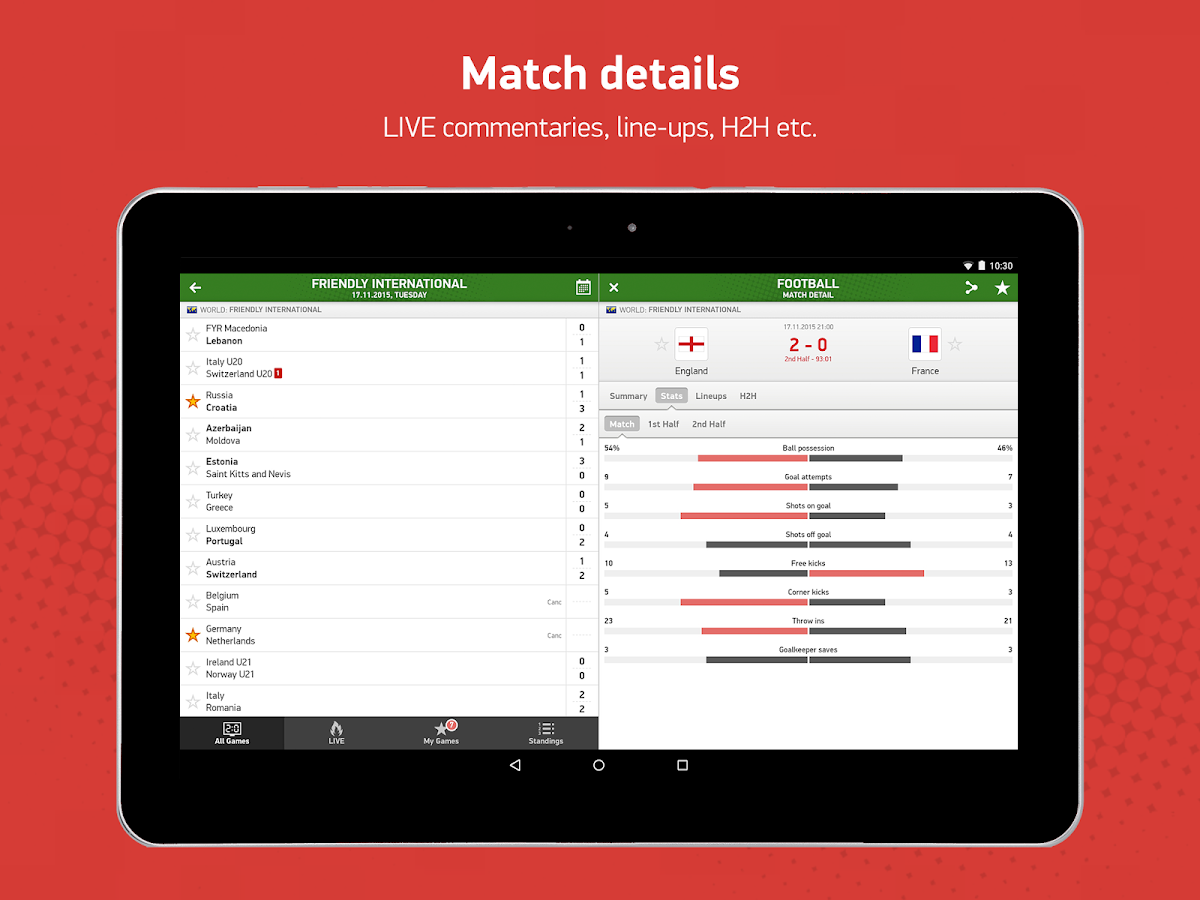 flashscores mobile