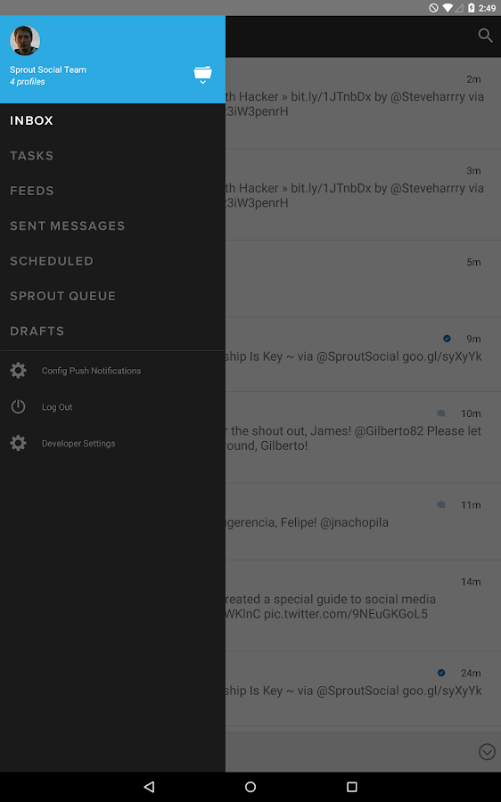 Sprout Social - screenshot