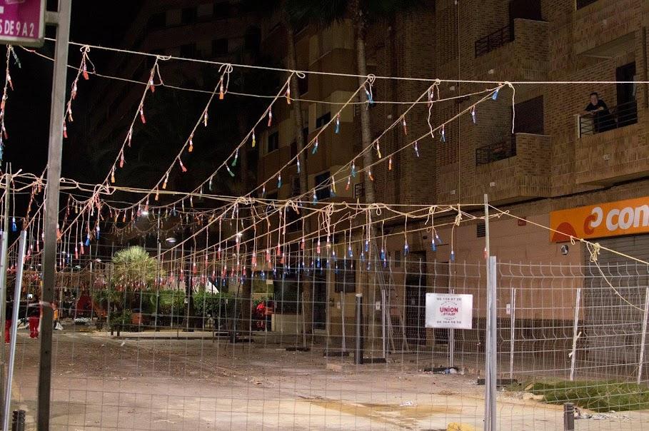 Vicente Caballer se jubila en Sant Valerià con la mayor mascletà de Torrent