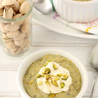 Pistachio Pudding For Two (From Scratch)