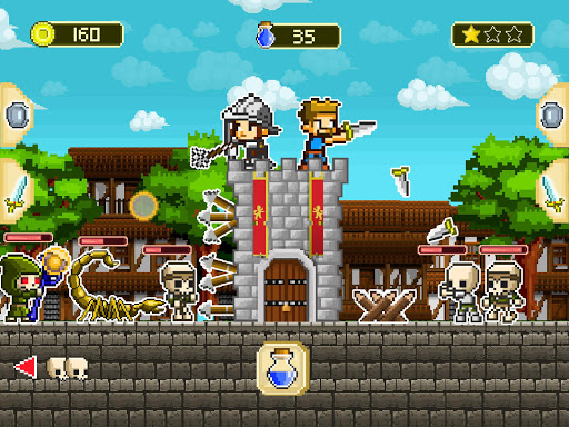 Mini guardians: castle defense (retro RPG game)  screenshots 4