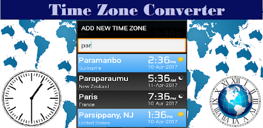 Time Zone Converter - World Time Zones Clock - Apps on Google Play