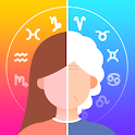 Old Face & Daily Horoscope -Face Aging & Palm Scan icon