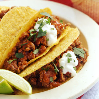 Chili-Beef Tacos.
