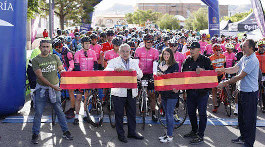 Las 4 cimas' del programa 'Almería Activa', un éxito