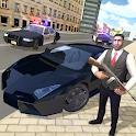Gangster Crime Car Simulator icon