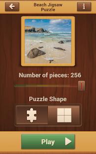 Plážový Hry Puzzle - náhled