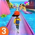 RUN RUN 3D 3 - Hyper Water Surfer Endless Race icon