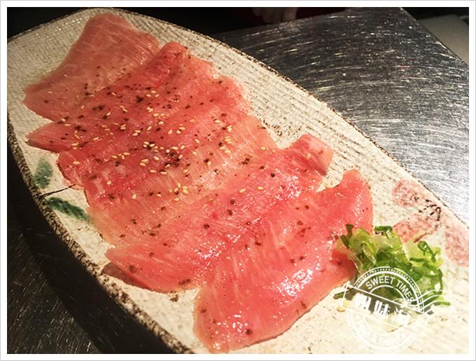 中堂燒肉 富民店薄鹽頸花肉240元