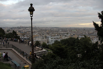 Photo: Views from the hills of Montmartre