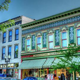 by Karen McKenzie McAdoo - City,  Street & Park  Markets & Shops