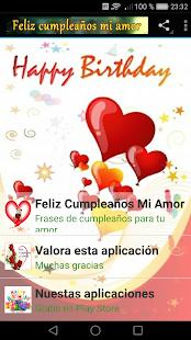 Feliz Cumpleanos Mi Amor Aplikacije Na Google Playu