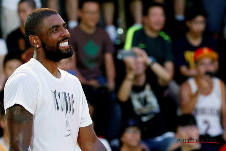 Opvallend: sterkhouder Kyrie Irving mag voorlopig niet spelen in thuiswedstrijden van de Brooklyn Nets