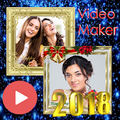New Year Video Maker 2018