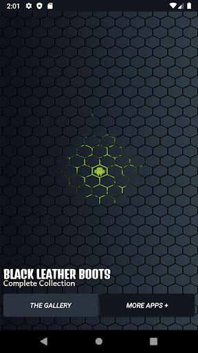 black leather boots screenshot 1