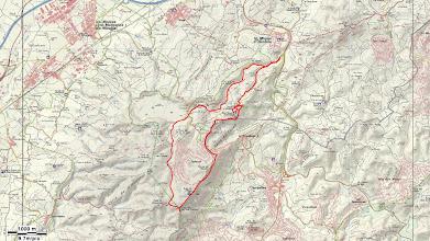 Photo: 130314 Castell d'Olèrdola - Temps: 5 hores i 23' - Distància: 14,98 km - Pujada acumulada: 461 m.