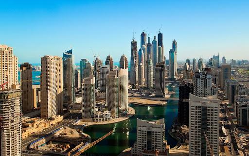 Dubai Buildings Live Wallpaper