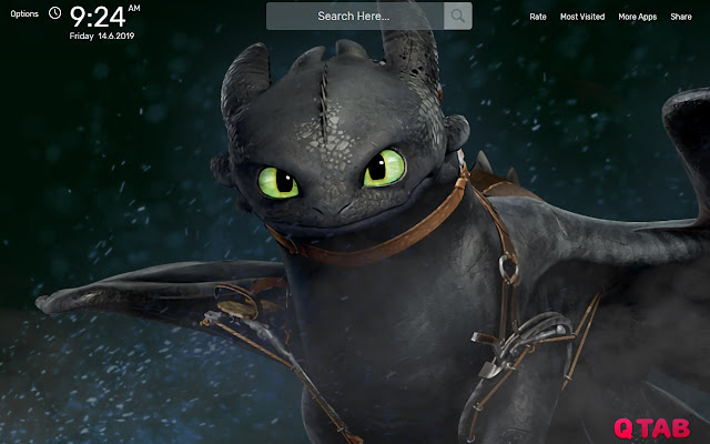 Toothless Wallpapers New Tab Background Chrome Web Store
