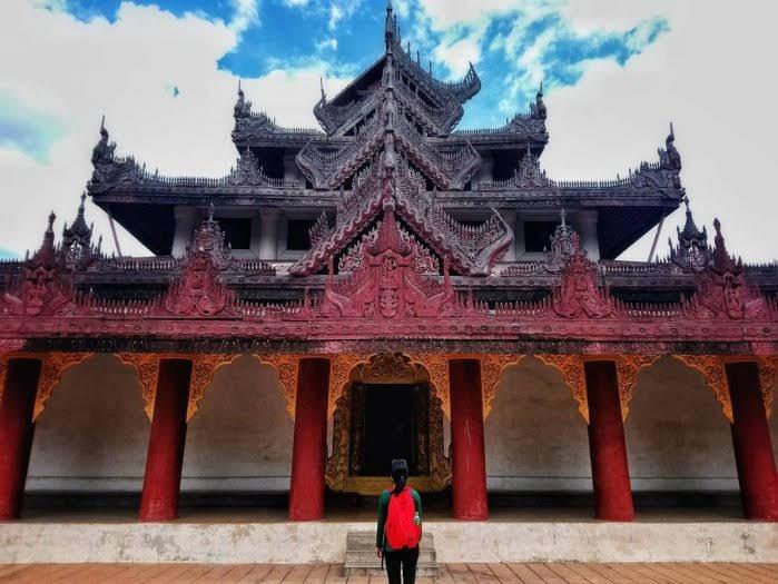 tu viện Bagaya Kyaung bằng gỗ
