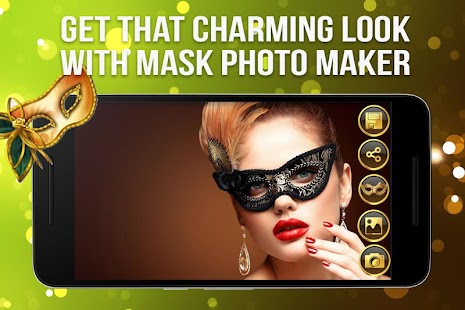Mask Masquerade-Face booth screenshot
