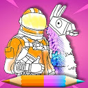Skins Coloring Book icon