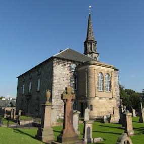 St Michaels Church, Inveresk by Nicola Graham - Buildings & Architecture Places of Worship ( churches, buildings & architecture, places of worship,  )