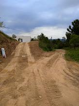 Photo: landweg weer dicht