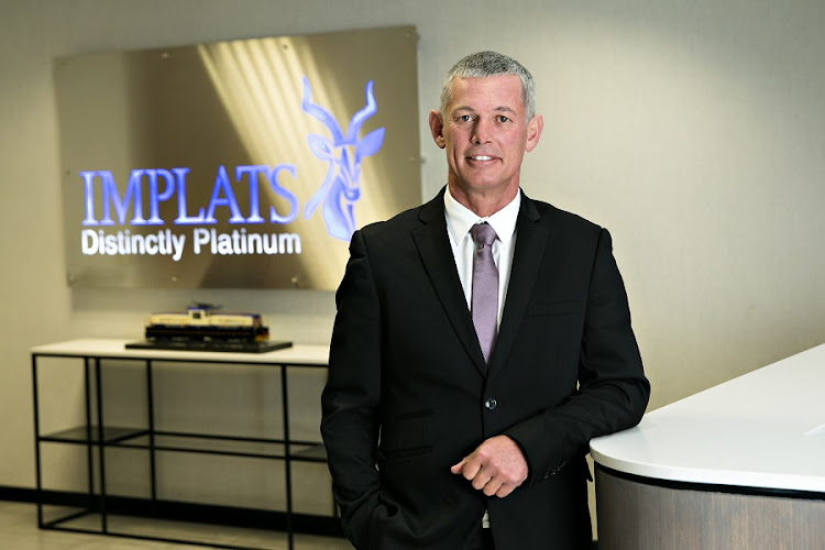 Implats CEO Nico Muller. Picture: SUPPLIED