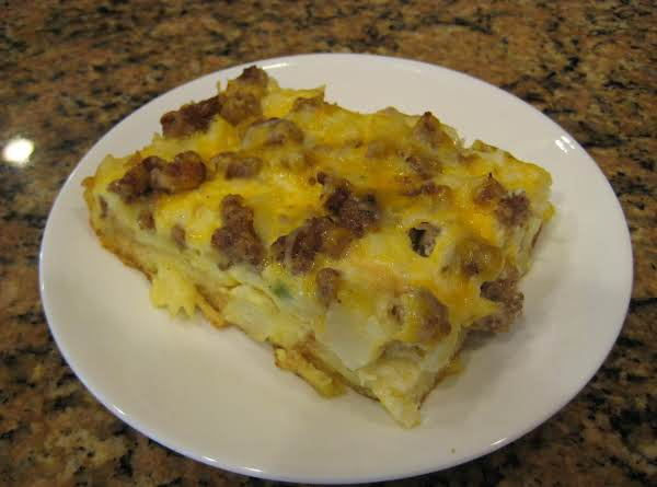 Easy Make Ahead Breakfast Casserole Recipe
