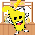 Happy Lemonade Fill The Glass icon
