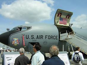 Photo: Powietrzny tankowiec KC-135 (USA)
