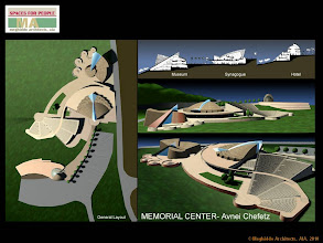 Photo: Memorial Center: Museum, Amphitheater, Synagogue, Hotel